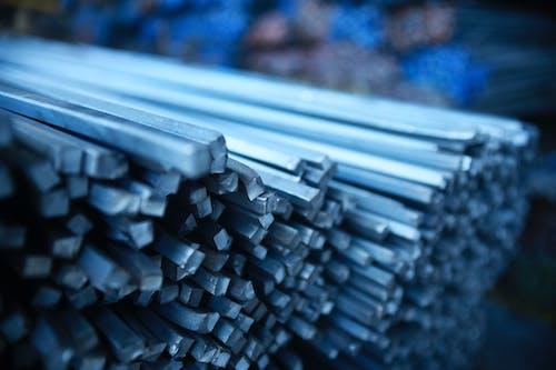 Immagine gratuita di acciaio, acero, azzurro, fabbrica