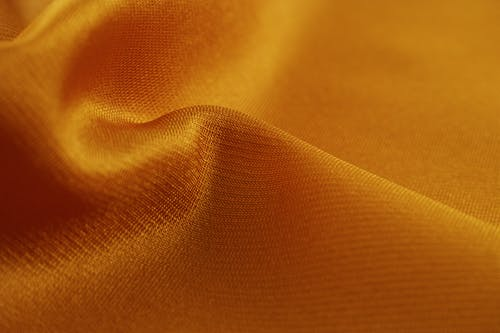 Orange Textile Close-up Photography