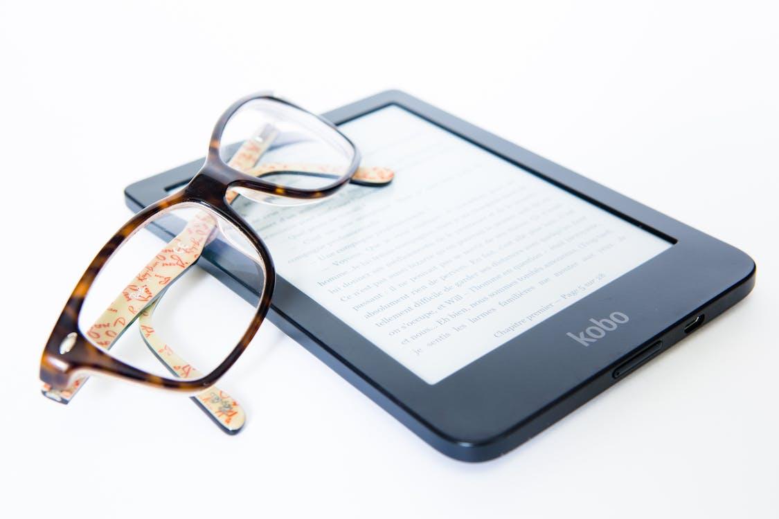 carte electronică, citind, cititor