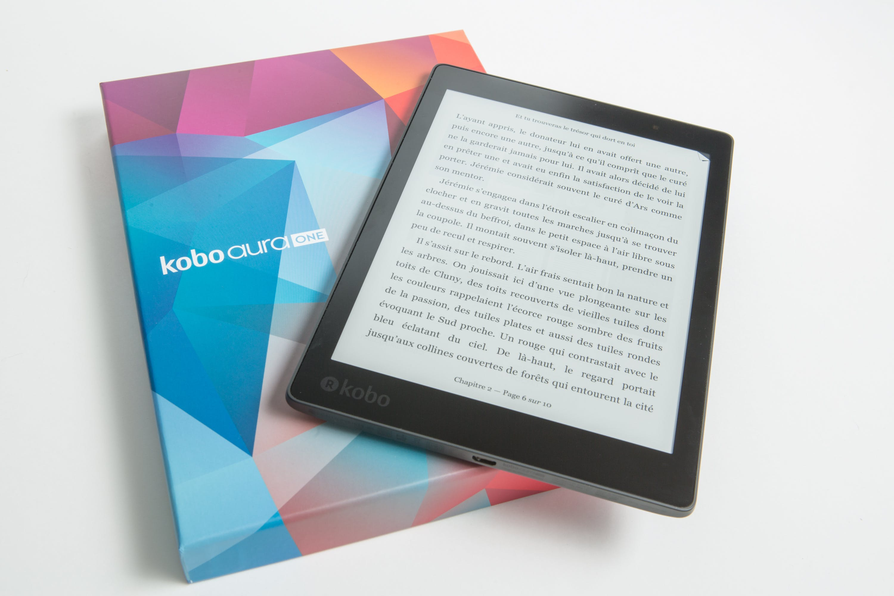 Black Kobo Aura One Tablet With Box