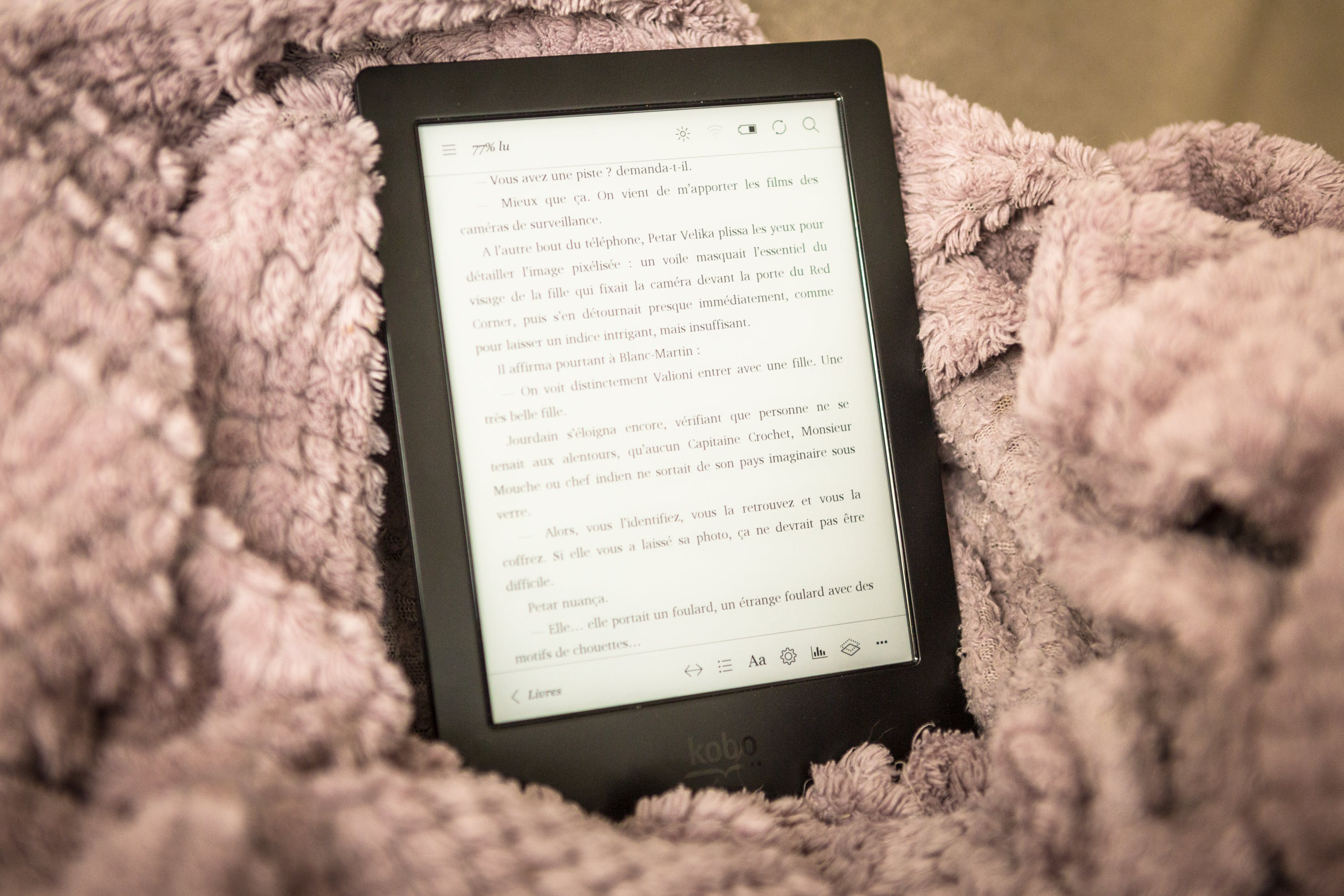 Free stock photo of at home, blanket, book, cocoon