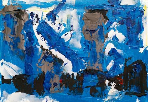 Безкоштовне стокове фото на тему «абстрактна картина, абстрактний, абстрактний експресіонізм, акрилова фарба»