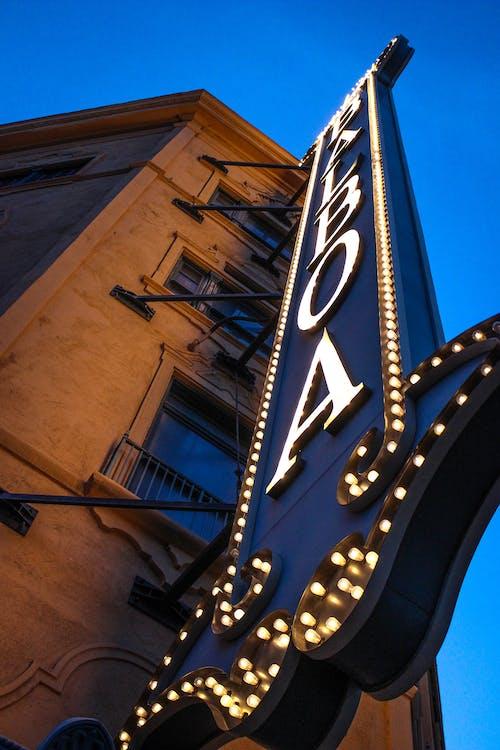 Imagine de stoc gratuită din bar, luminile orașului