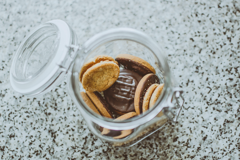 Kostenloses Stock Foto zu essen, glas, verschwimmen, schokolade