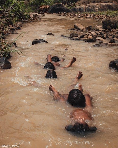 Kostnadsfri bild av barn, indien, roligt, simma