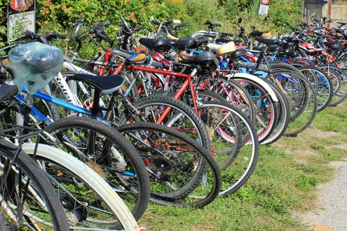 Free stock photo of bicycle, bicycle parking, bicycles