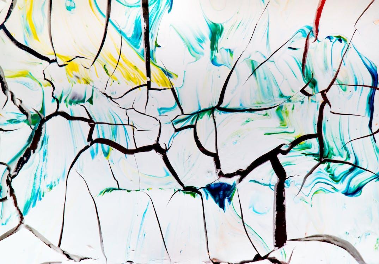 abstrakcyjny, artystyczny, farba