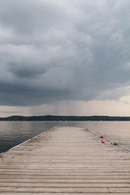 Foto d'estoc gratuïta de aigua, Canadà, cel, moll