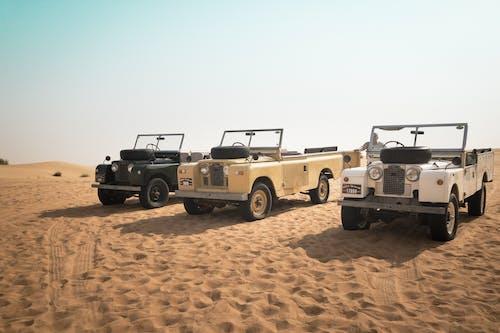 Gratis lagerfoto af 4 hjulstrækker, 4k-baggrund, arab, årgang