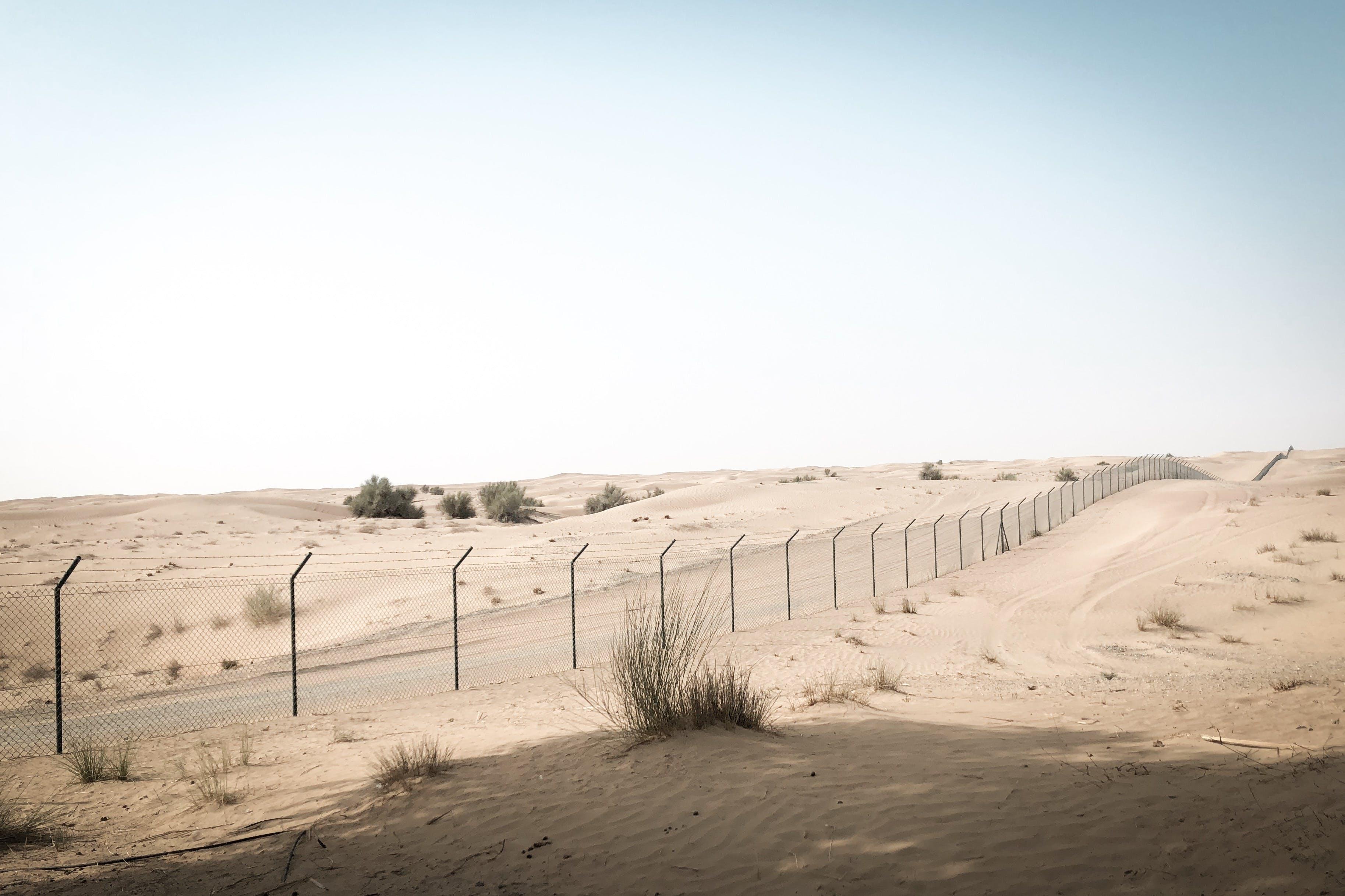 Road at Deserted Land