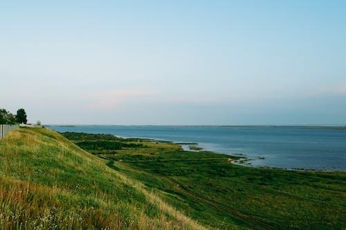 地平線, 景觀, 晴朗的天空, 水 的 免費圖庫相片