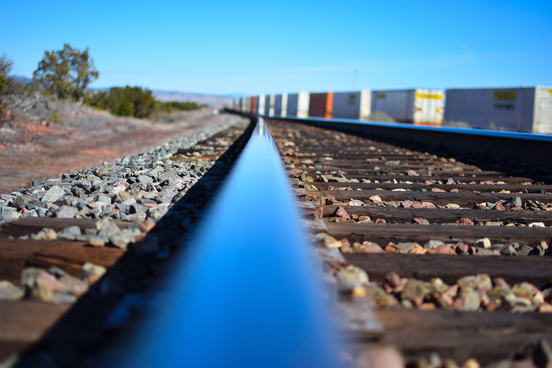 Free stock photo of train tracks