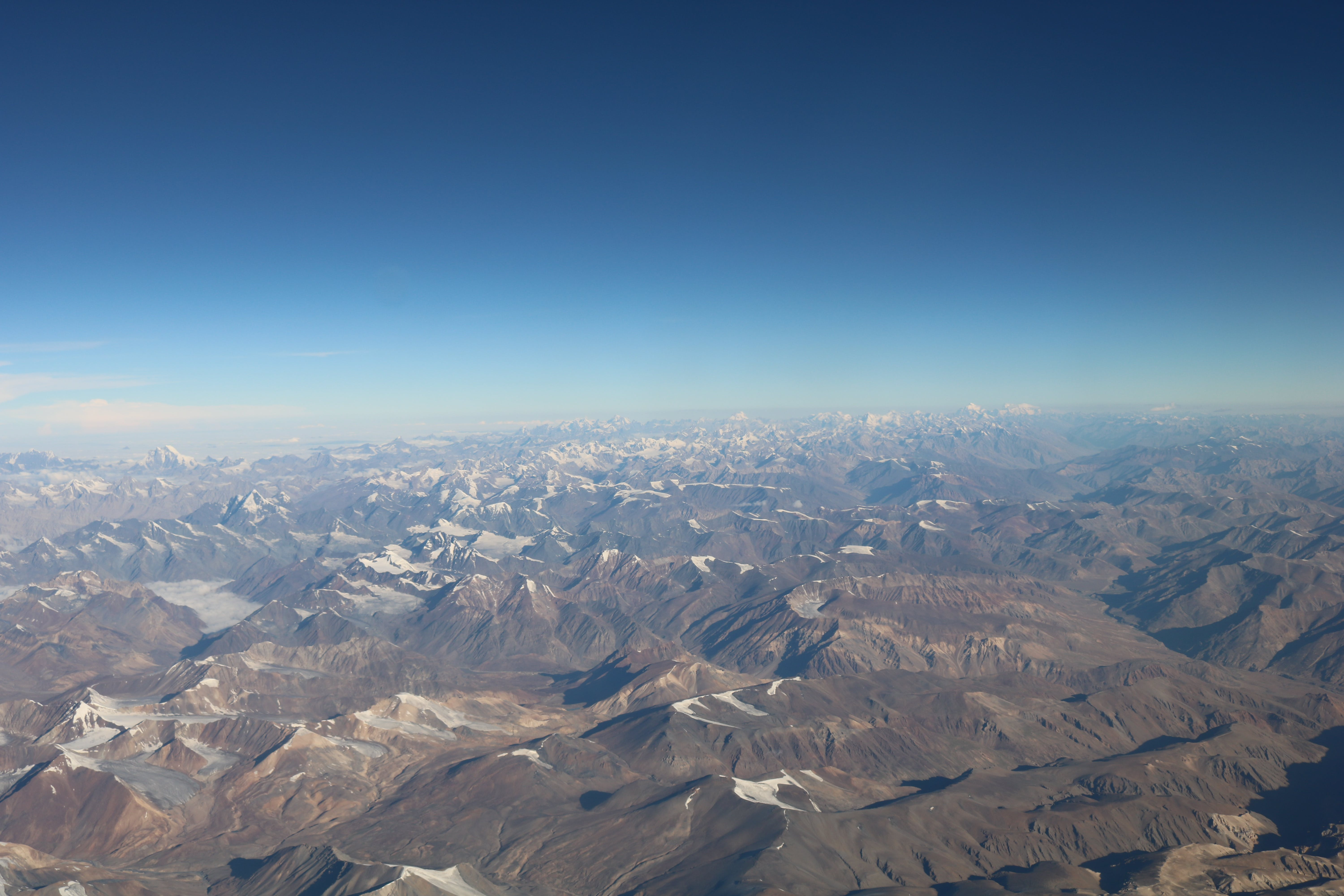 Aerial View Photo of Mountains