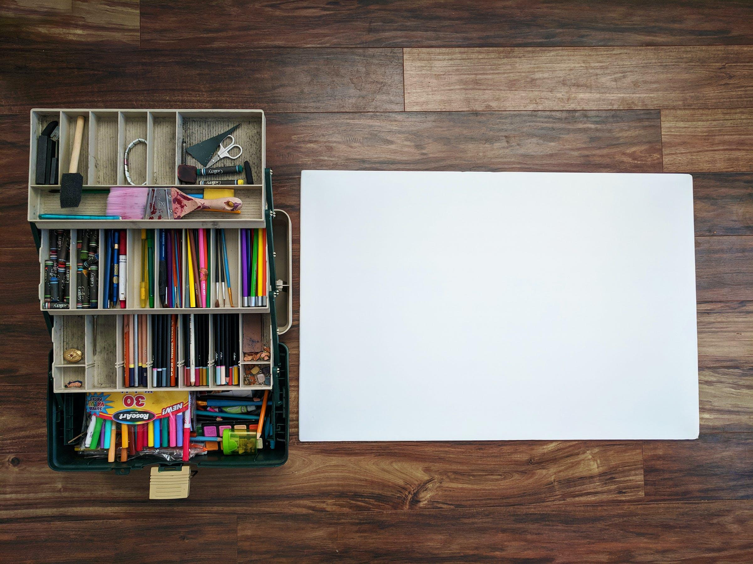 Kostenloses Stock Foto zu artsy fartsy, buntstifte, content-ersteller, design