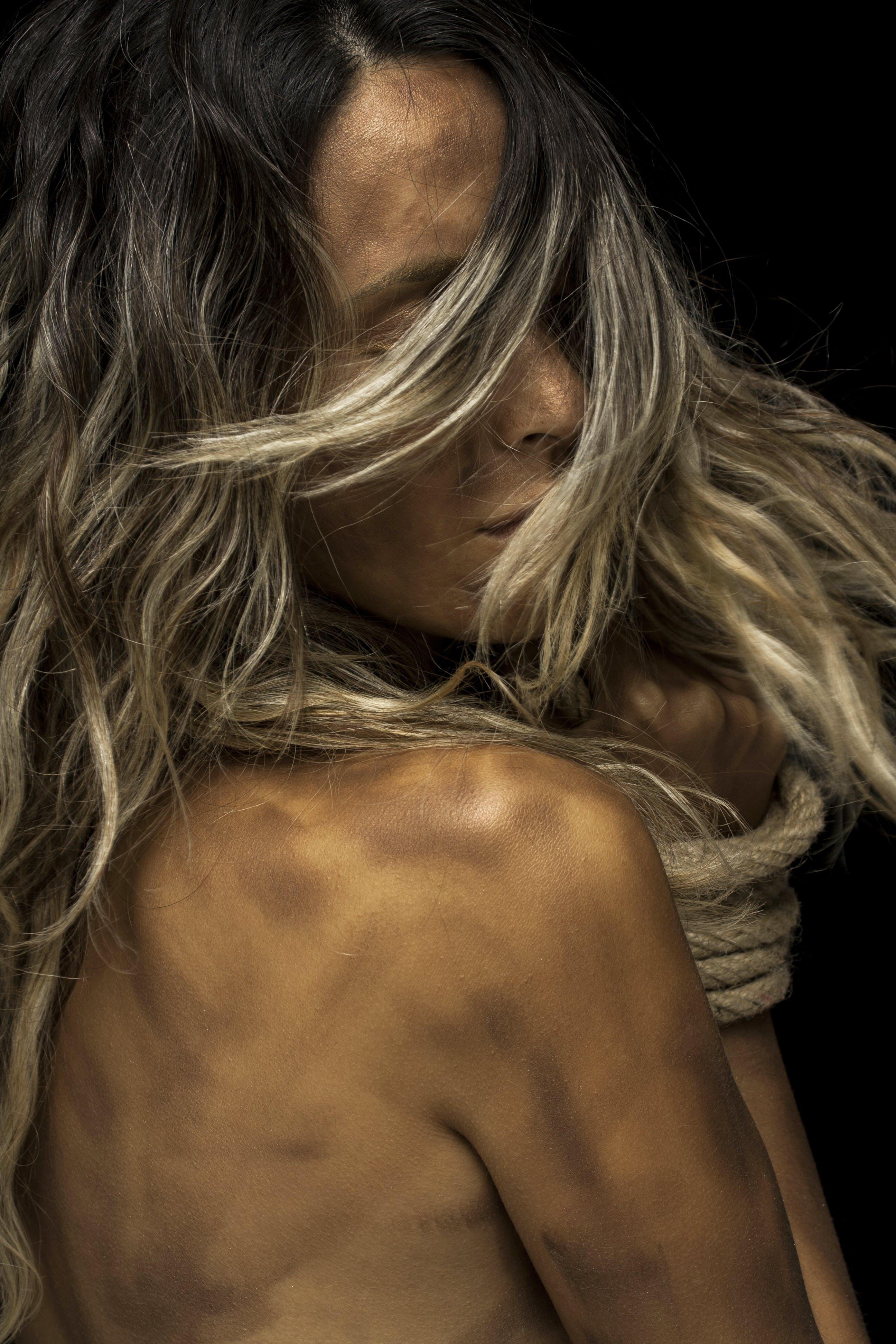 Бесплатное стоковое фото с волос, голый, девочка, женщина