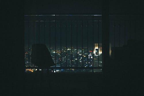 Gratis lagerfoto af balkon, bokeh, by, byens lys