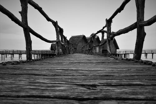 4k 桌面, seahouse, 人行天橋, 博登湖 的 免费素材照片