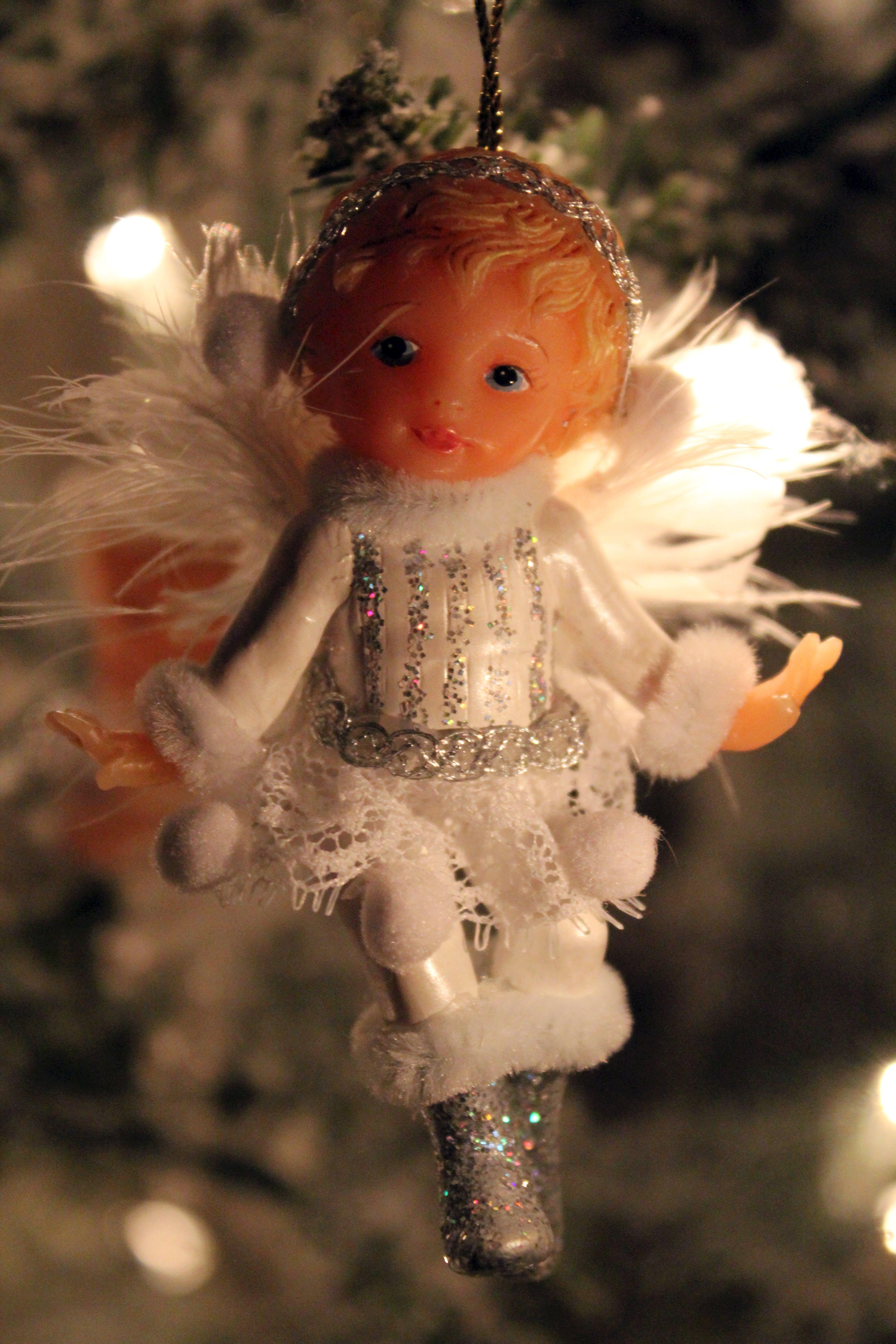 Free stock photo of angel, ornament