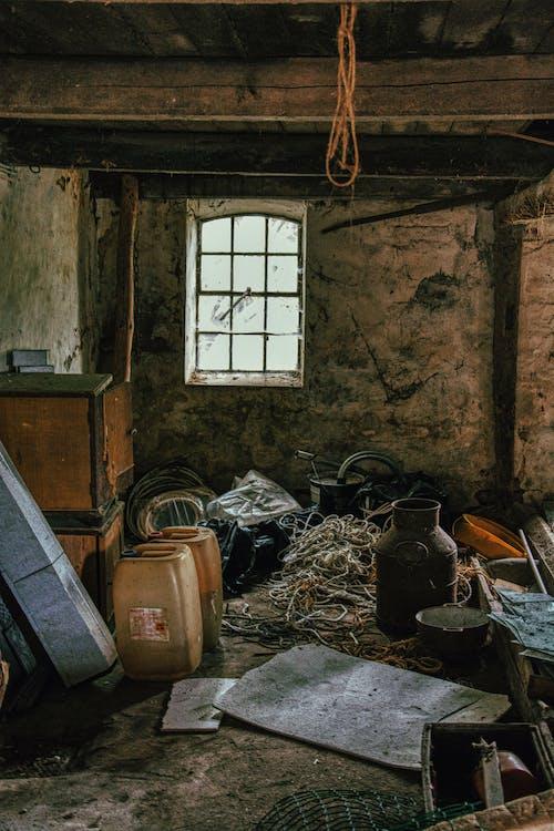 Gratis lagerfoto af hæftning, rod, skrald, værelse