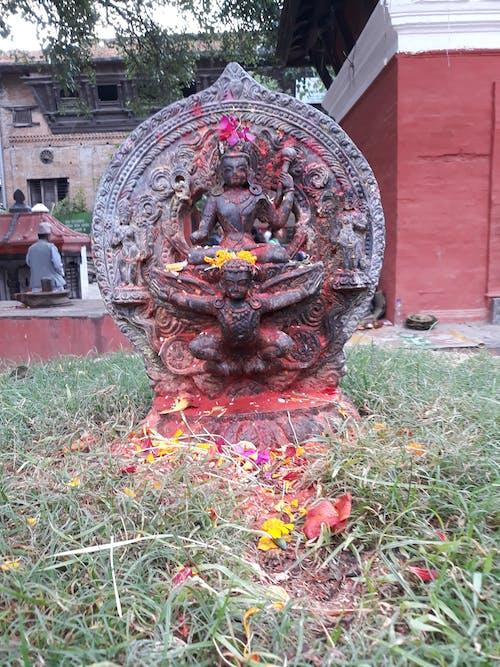 Foto profissional grátis de deus, estátua, história, Nepal