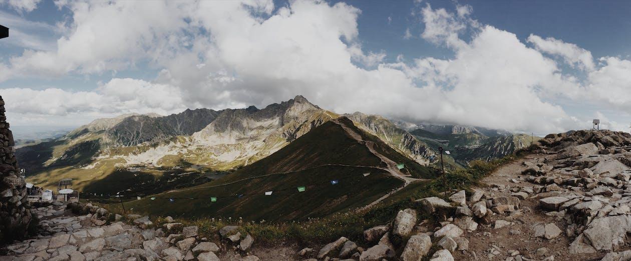 山岳, 山脈, 山頂
