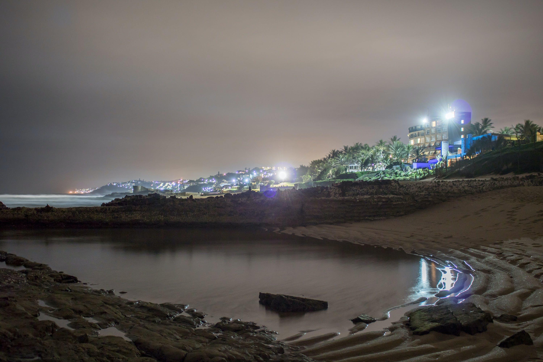 Free stock photo of night lights, oceanside