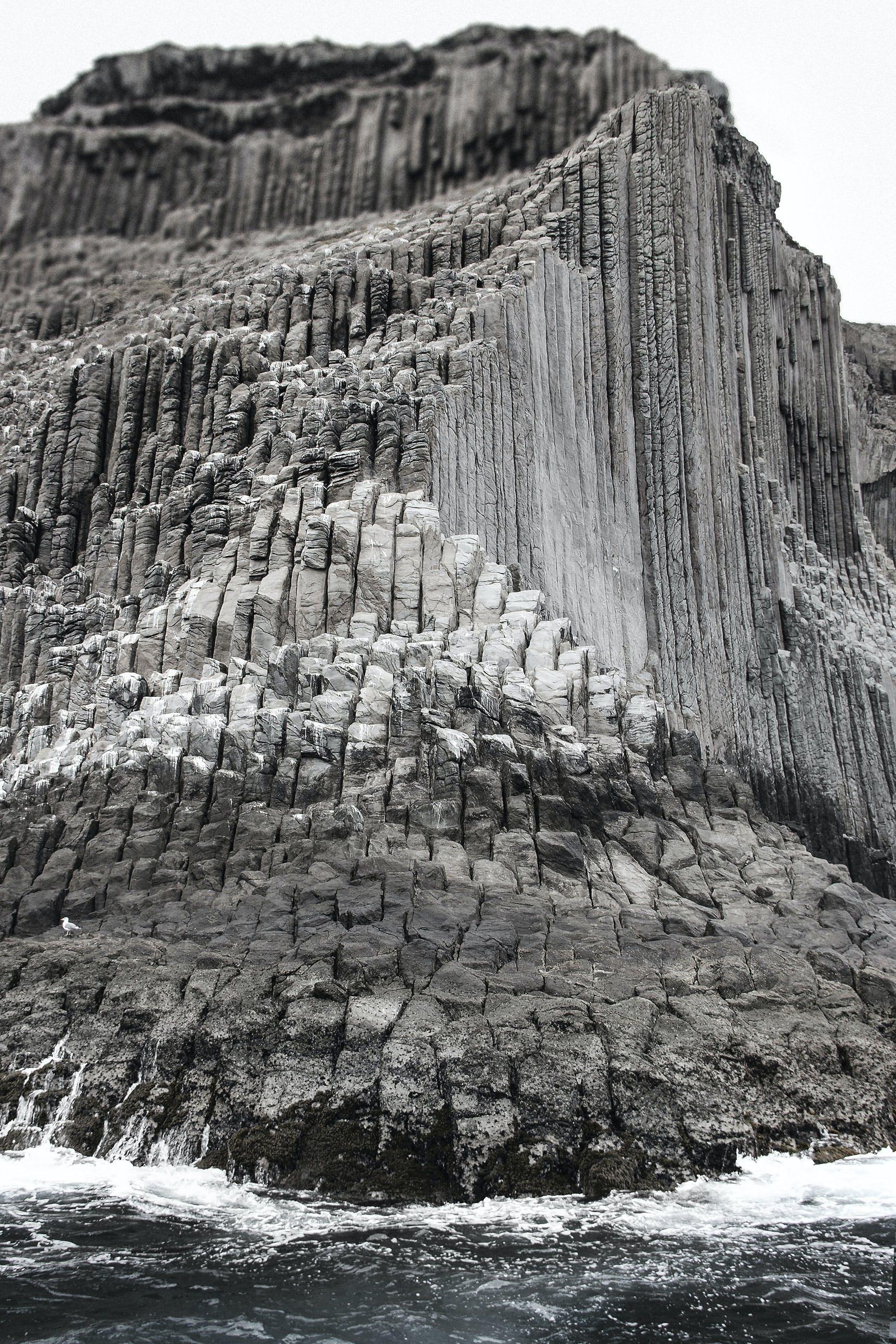 Kostenloses Stock Foto zu basaltische gesteine