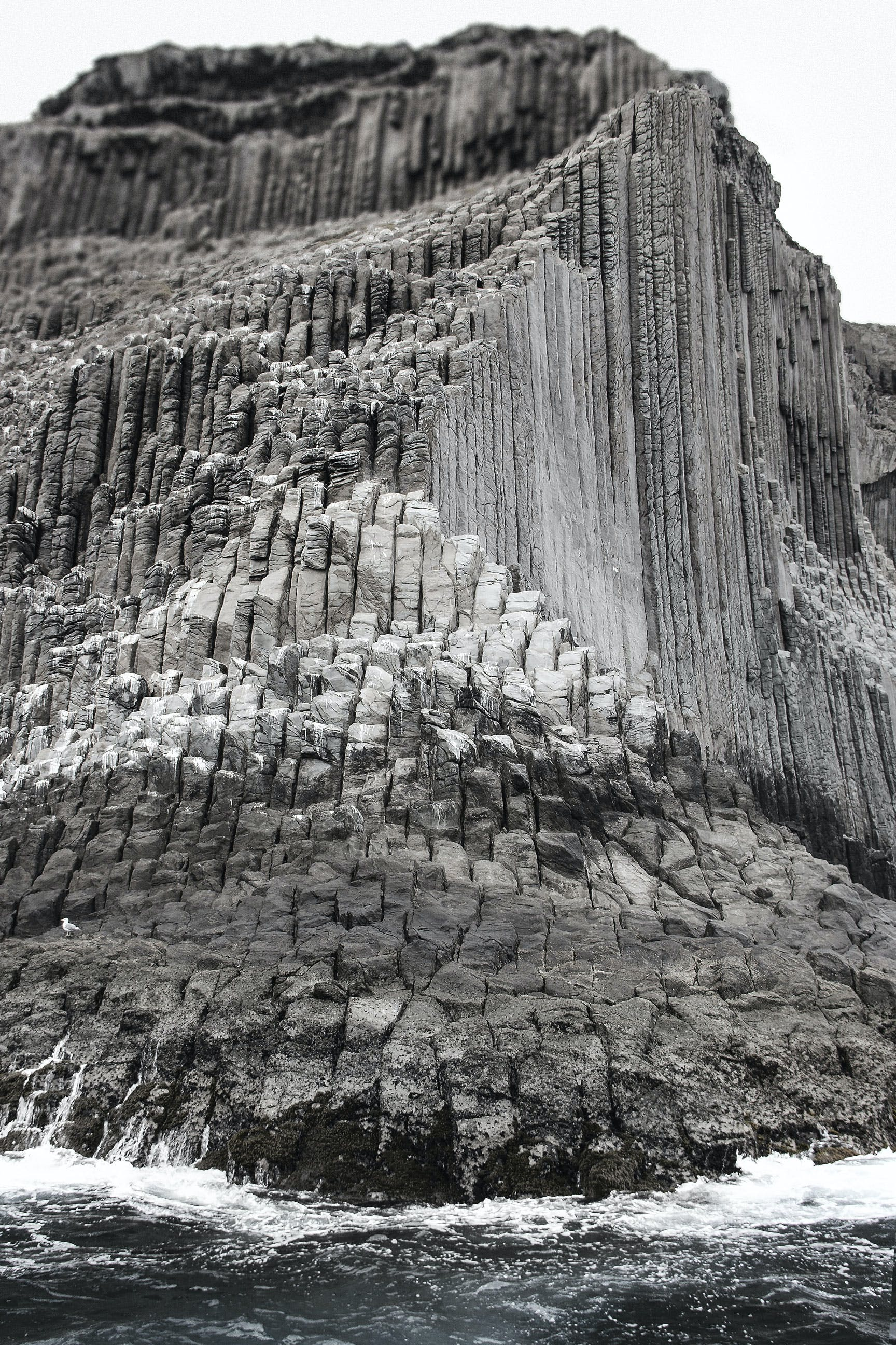 Free stock photo of basaltic rocks