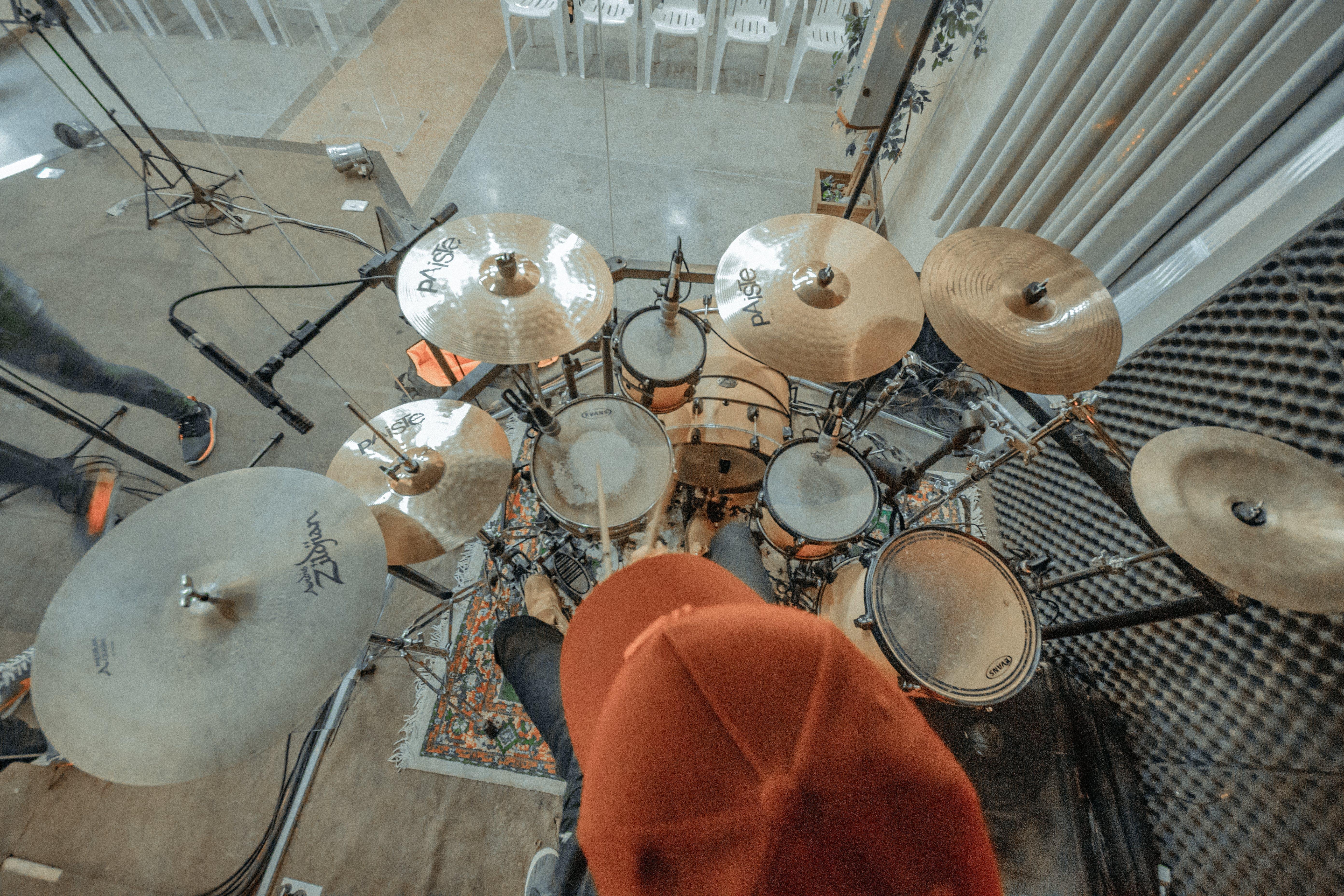 Free stock photo of bateria, baterista, drums, grove