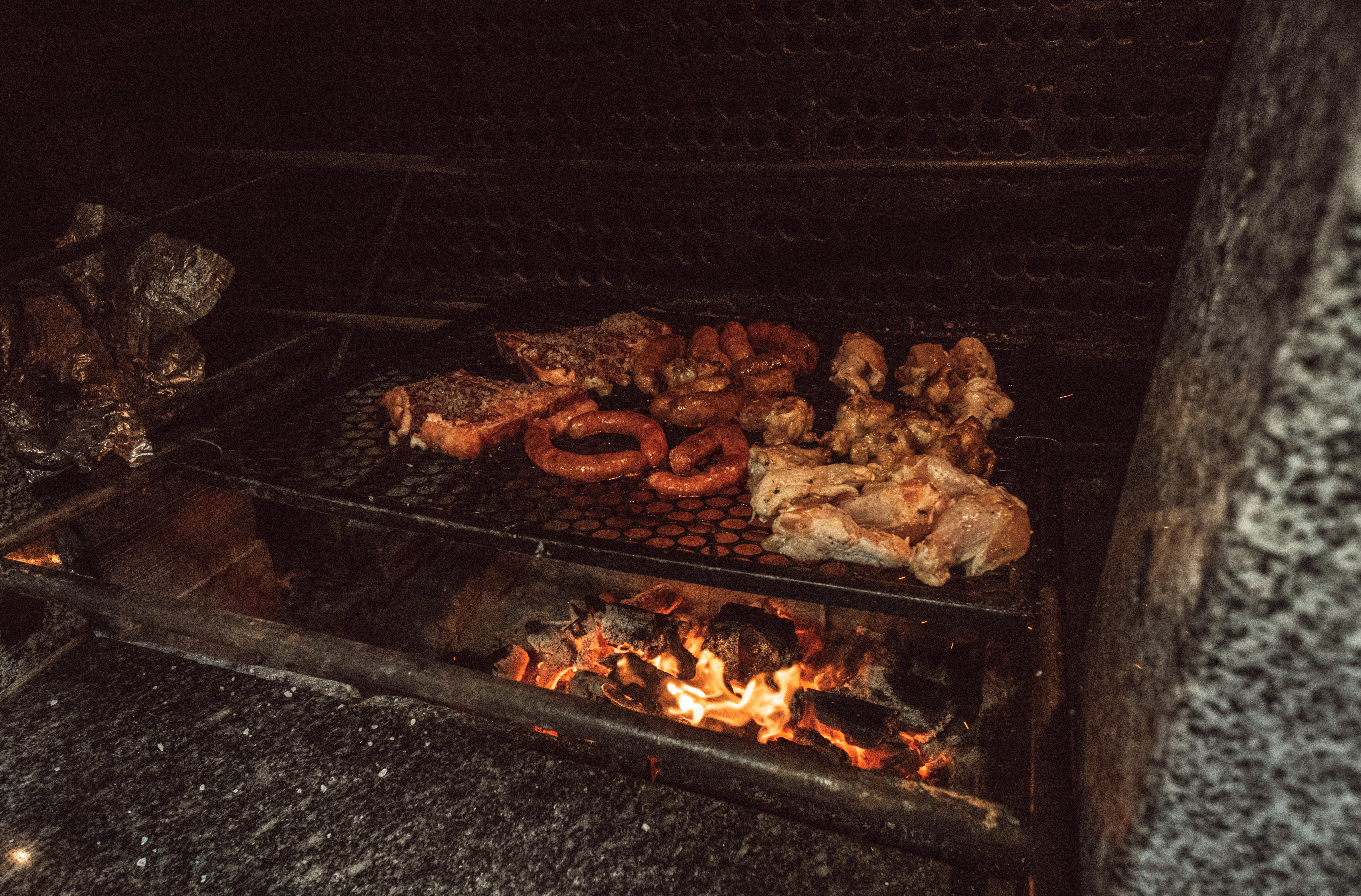 あたたかく, お肉, やけど, グリルの無料の写真素材