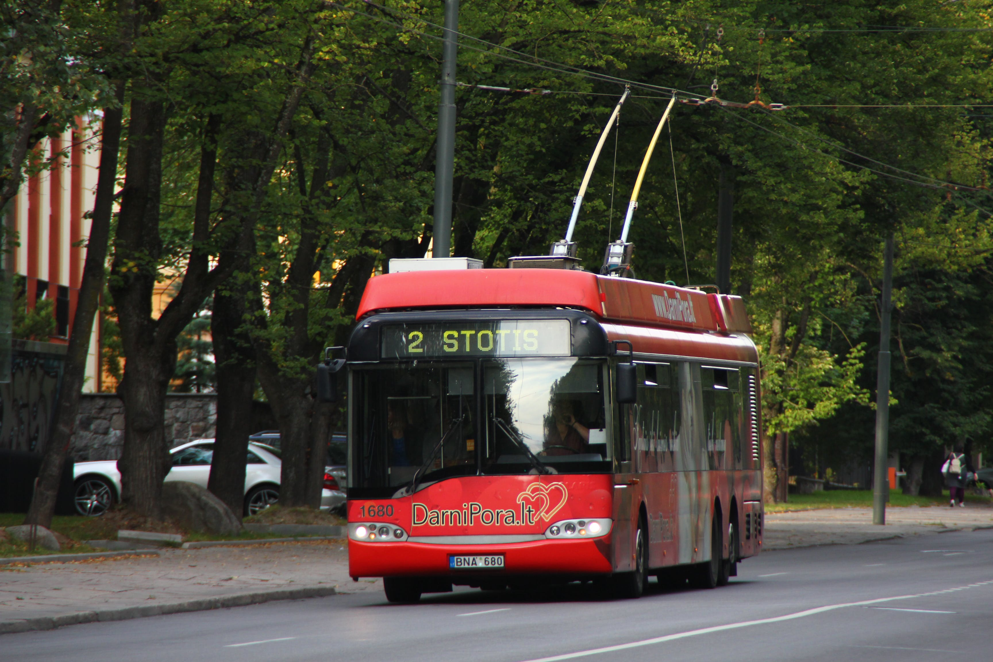 Free stock photo of trolley bus