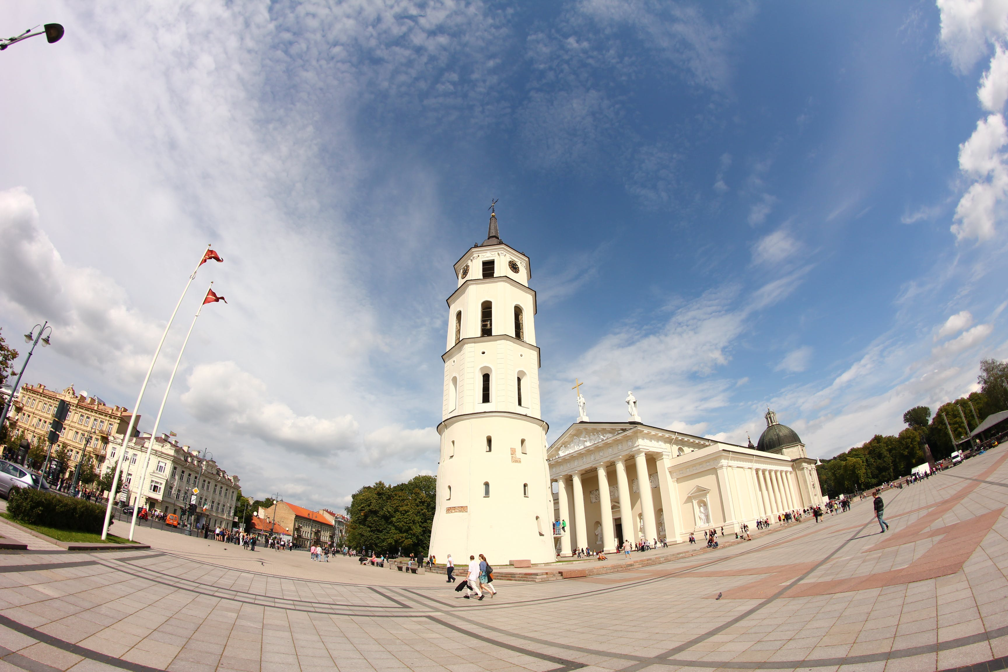 Free stock photo of Vilnius CATHEDRAL