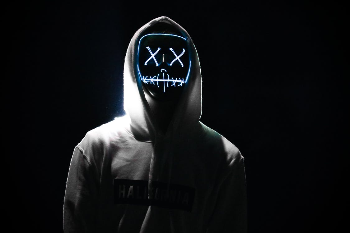 Person's Grey Hoodie