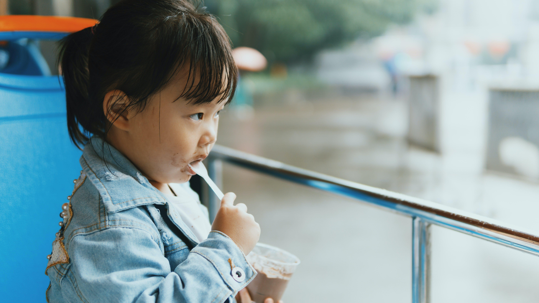 Photo of Girl Eating Food