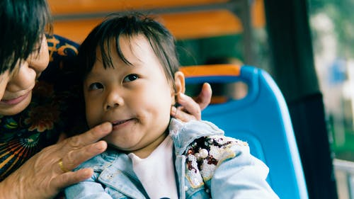 คลังภาพถ่ายฟรี ของ 6-7years, สาวเอเชีย