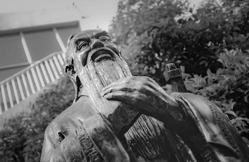 Gratis stockfoto met beeld, confucius, eenkleurig, eenkleurige fotografie