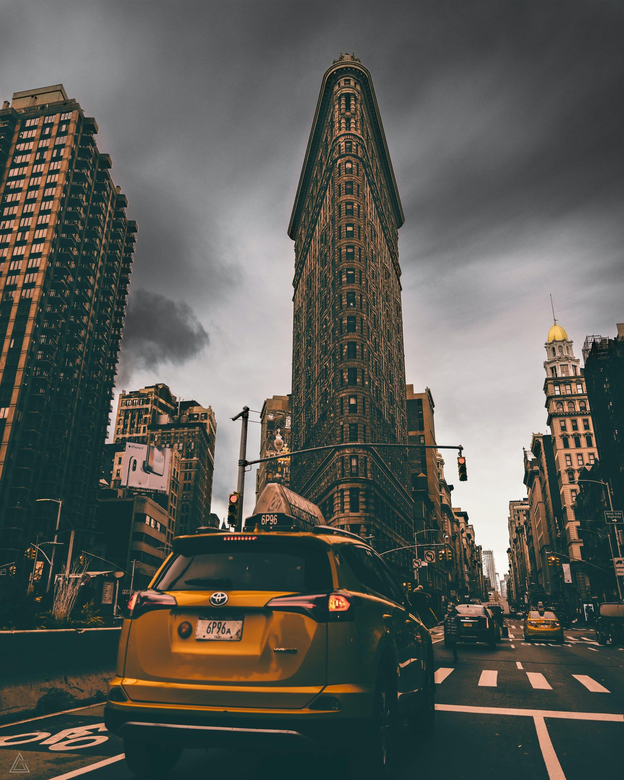 가장 높은, 거리, 건물, 건축의 무료 스톡 사진