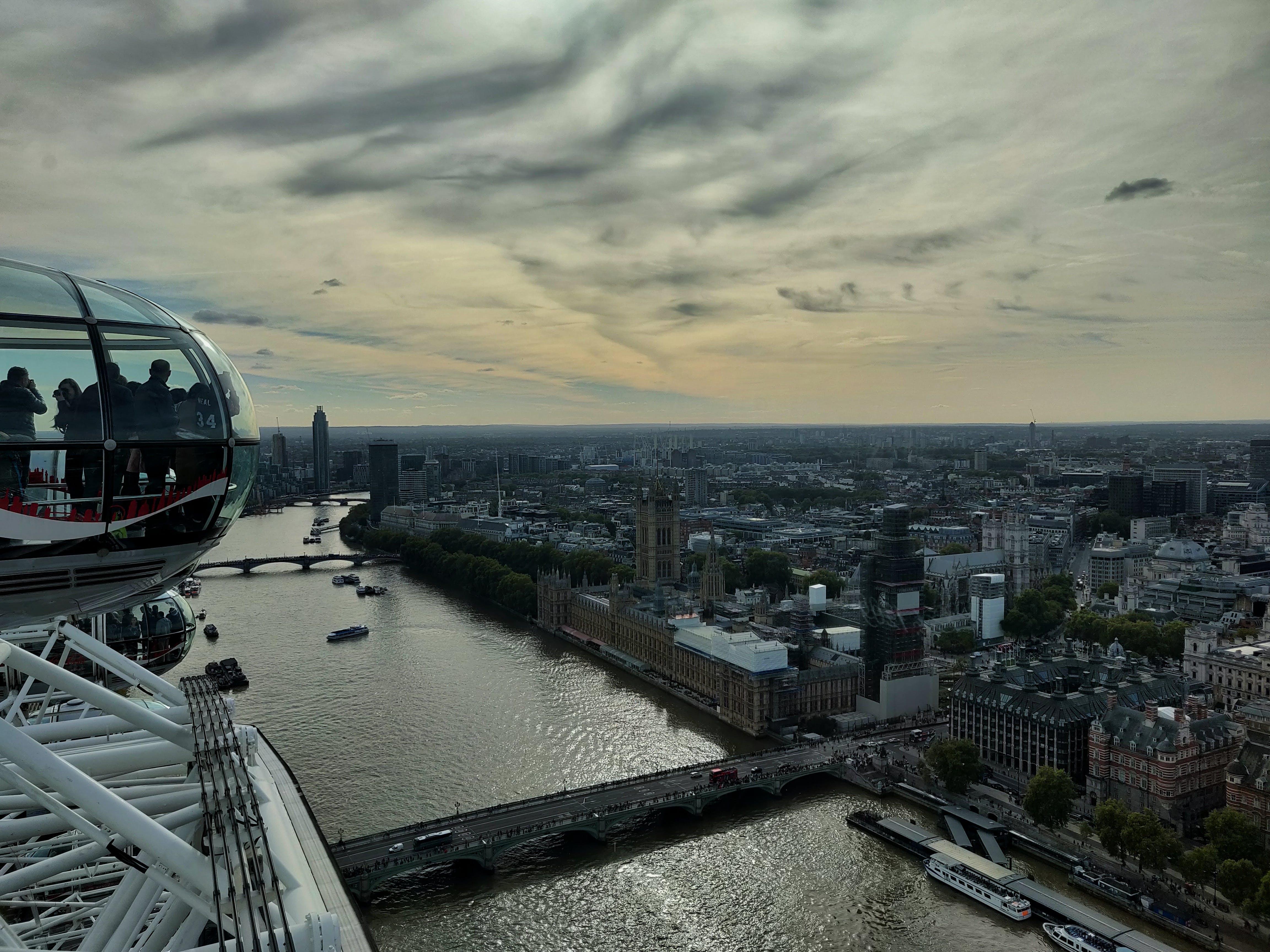 Immagine gratuita di london eye, londra