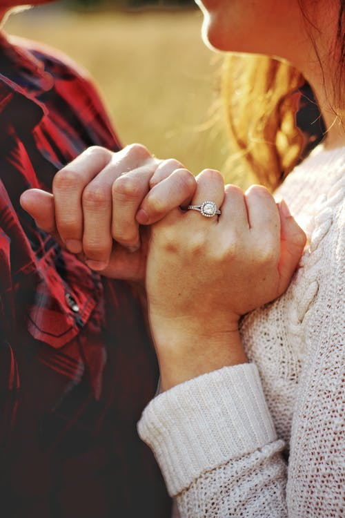 cận cảnh, cặp vợ chồng, cùng với nhau
