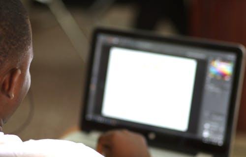 Free stock photo of africa, african, coder, developer