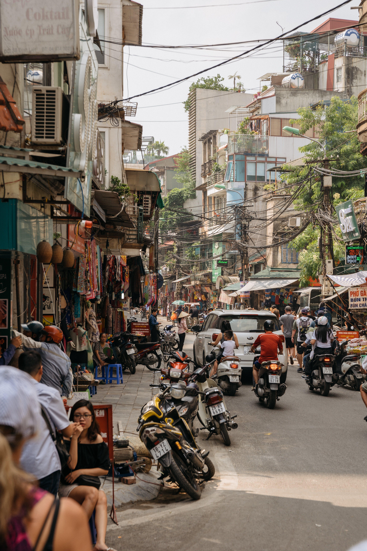 Photos gratuites de asie, bourse, circulation, citadin