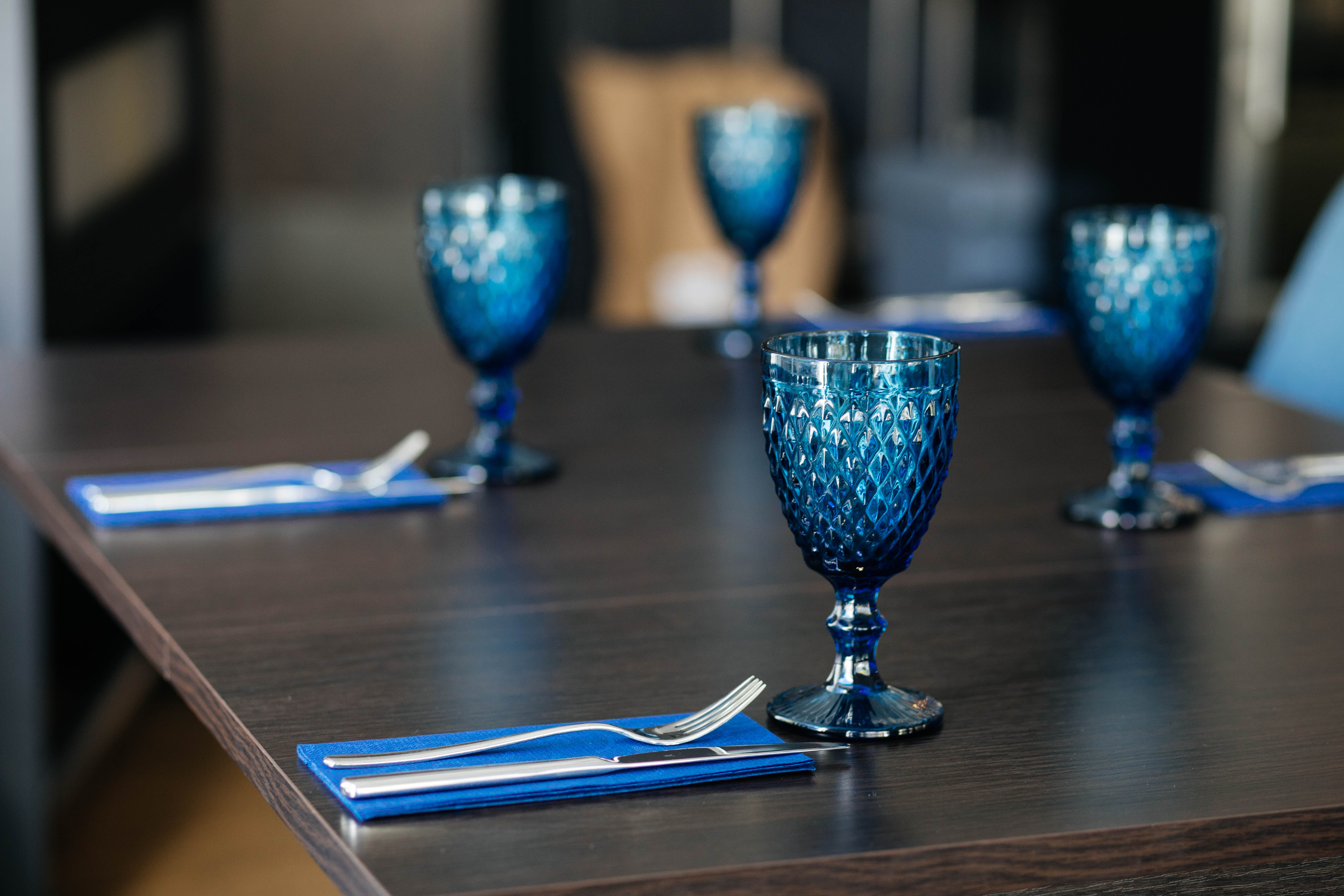 Photo off Blue Goblets