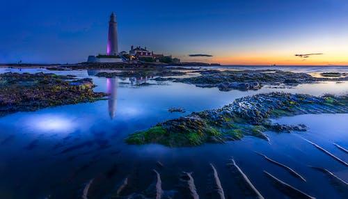 光, 反射, 塔, 天空 的 免费素材照片