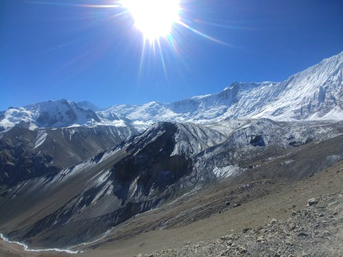 Foto profissional grátis de Himalaia, manang, montanha, Nepal