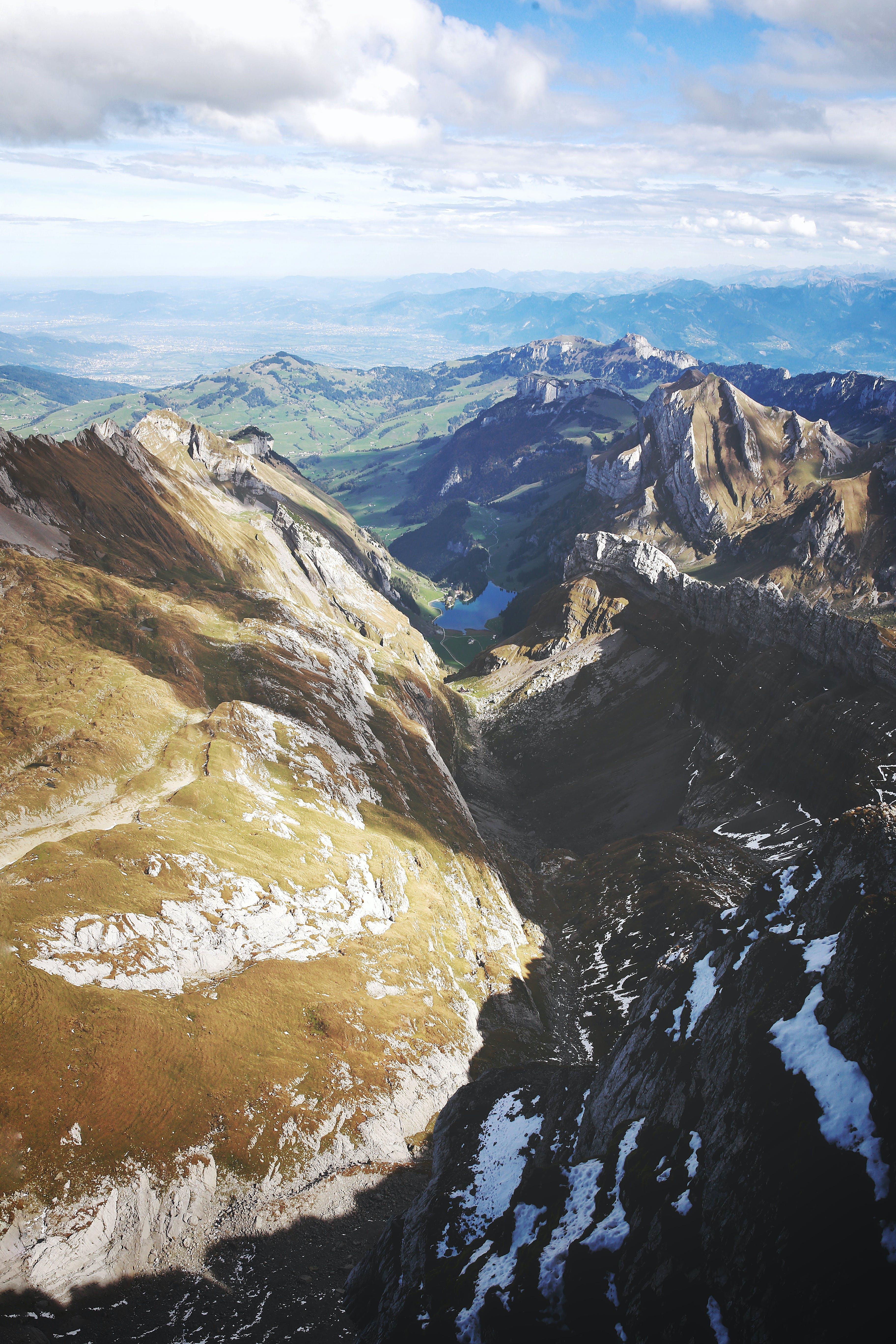 Bird's Eye View Of Rocky Mountains