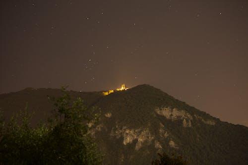 Δωρεάν στοκ φωτογραφιών με canon, αστέρια, βουνό, δέντρα