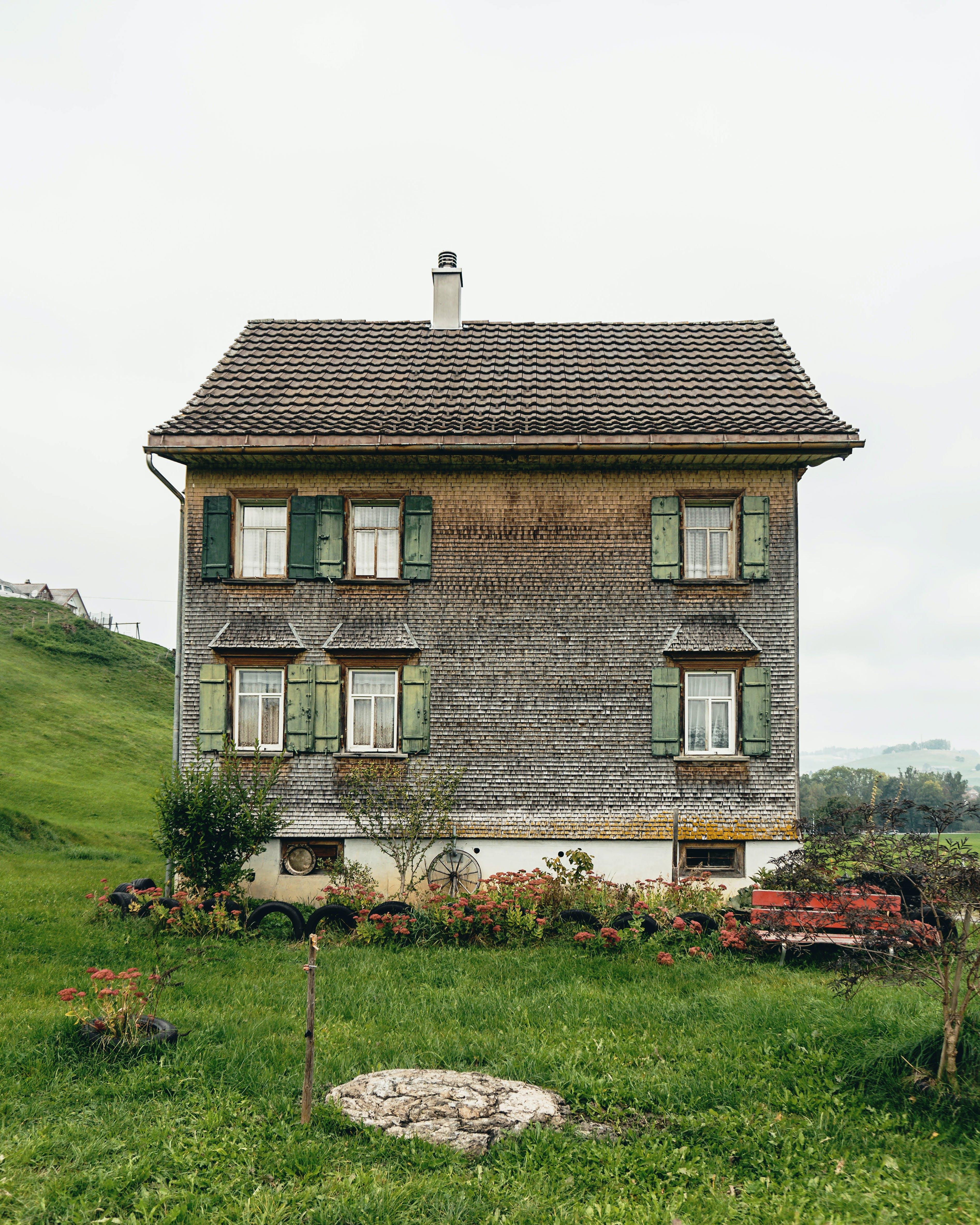Free stock photo of countryside, house, swiss, switzerland