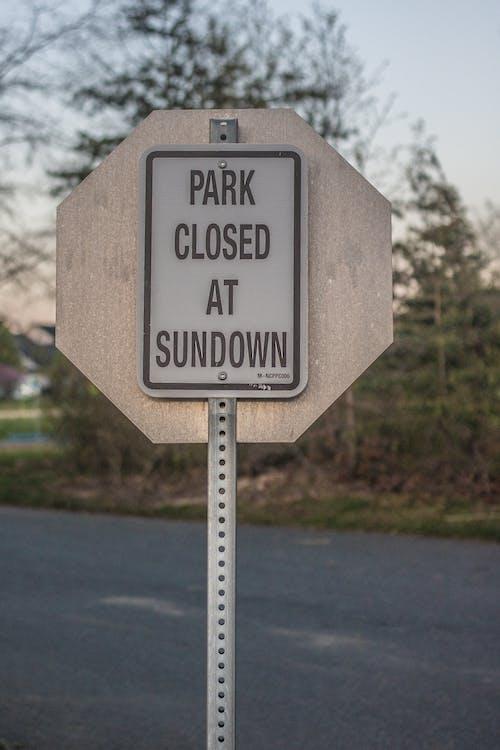 公園, 路標 的 免费素材照片