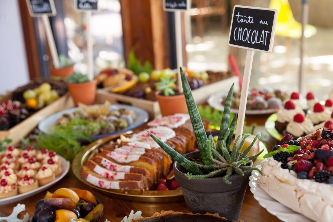 Variety of Food on Tabletop
