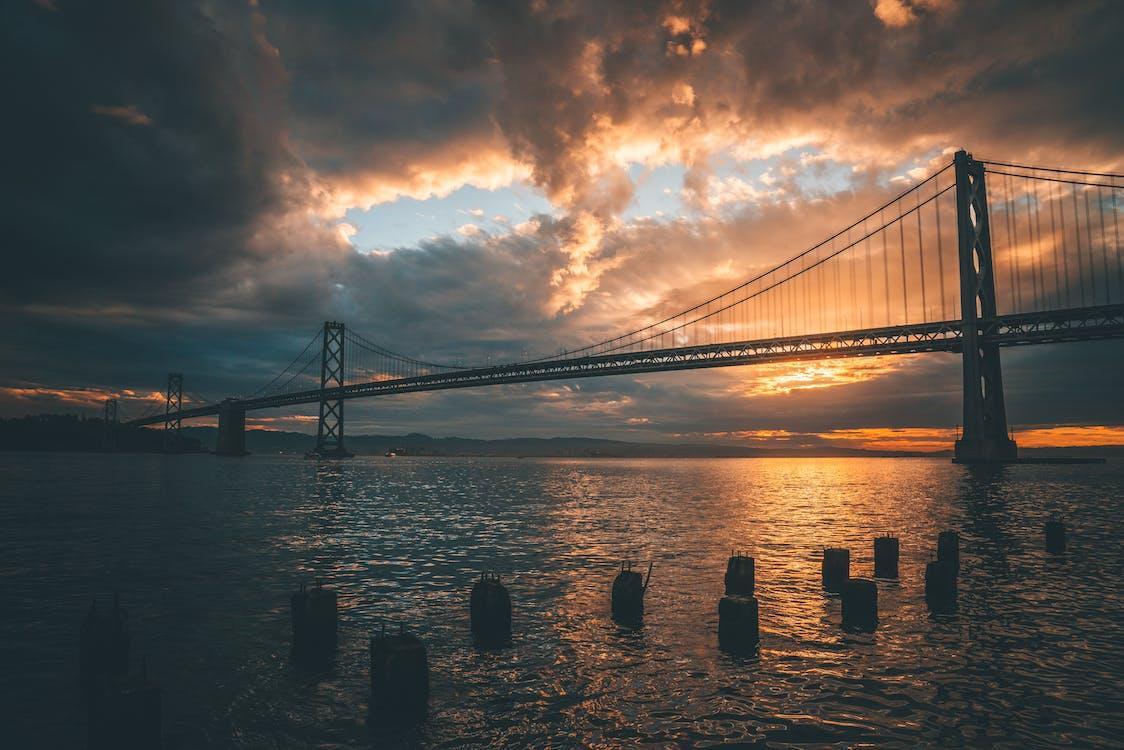 4k ταπετσαρία, Bay Bridge, αμορτισέρ